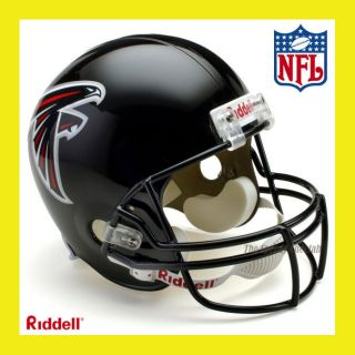 ATLANTA FALCONS NFL DELUXE REPLICA FULL SIZE FOOTBALL HELMET by