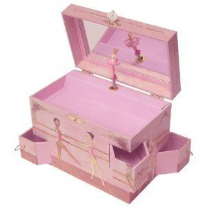 Ballerina Enchantmints Ballet School Music Jewelry Box Toy New