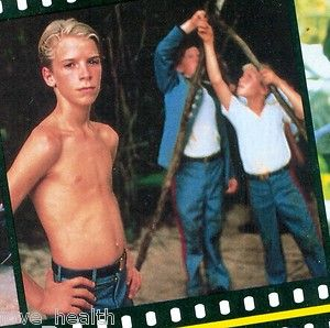 BALTHAZAR GETTY SHIRTLESS CHRIS FURRH DAVID FAUSTINO TEEN BOY 11x8