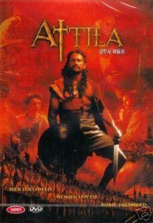 Attila DVD The Hun Warrior Epic Barbarians Documentary