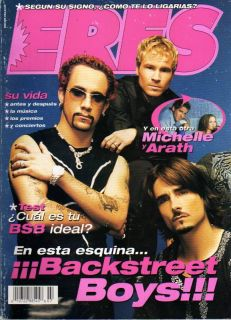 Michelle Vieth Arath de La Torre Backstreet Boys Magazi