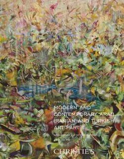 Christies Modern Contemporary Arab Iranian Art Dubai 24 October 2012
