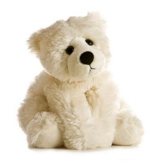 12 Aurora Plush Off White Teddy Bear Stuffed Animal Toy Brae Bear