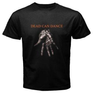 TOUR DEAD CAN DANCE HAND LOGO MUSIC ROCK BLACK T SHIRT SIZE S 5XL TEE