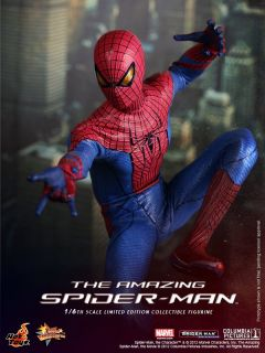 Hot Toys 2012 Amazing Spiderman Marvel Peter Parker Andrew Garfield 1