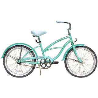 Beach Cruiser Bicycle Firmstrong URBAN 20 Girls kids 1 Speed Bike MINT