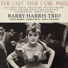 BARRY HARRIS TRIO THE LAST TIME I SAW~ JAPAN MINI LP CD C75