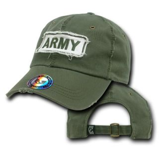 United States US Army Baseball Polo Cap Caps Hat Dist