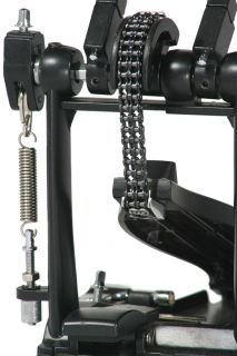 New Double Bass Drum Set Pedal Dual Chain Driven Sale