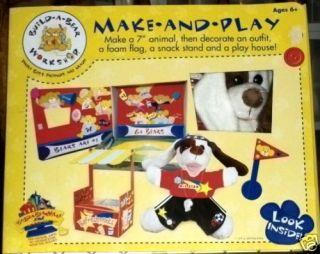 Build A Bear Workshop Make and Play Make A Dog Set