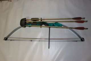 Bear Youth Women Target Bow SIGHT REST ARROWS QUIVER kids hunting