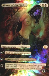 MTG Liliana of The Veil Innistrad Mythic Planeswalker Foil Altered Art