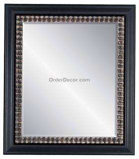32 rectangular wall mirror wood frame vanity mantle