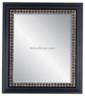 32 rectangular wall mirror wood frame vanity mantle