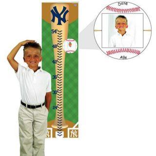 New York Yankees Baseball Bat Growth Chart