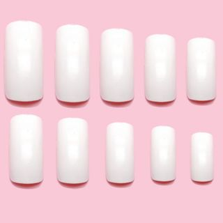 500 White False Nail Art Acrylic Nails Beauty Supplies