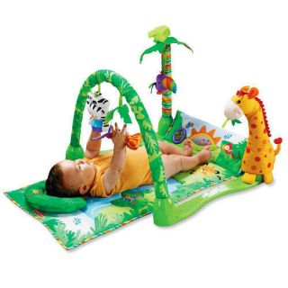 Fisher Price 1 2 3 Baby Infant Musical Activity Play Gym Mat 3 Stages