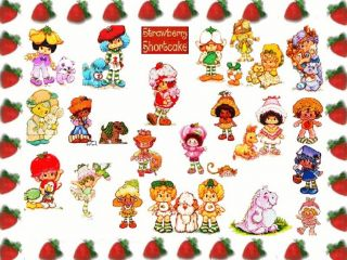 strawberry shortcake doll apricot baby in box w pet toy peach bunny