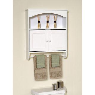 Cabinet Open Storage Towel Bar Towel Toilet Storage Bathroom New