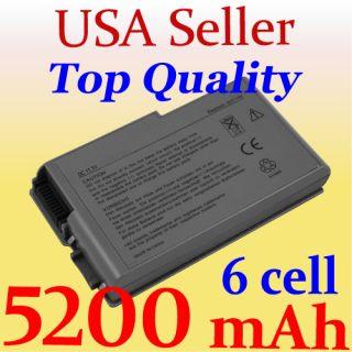 New 6 Cell Battery for Dell Latitude D500 D505 D510 D520 D530 D600