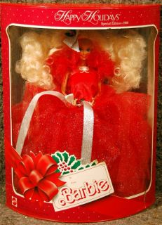 1988 Happy HOLIDAY BARBIE   MINT   Never Removed from Box (NRFB)