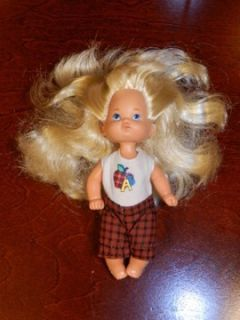 Barbie Kelly Doll 1976 Vintage Mattel Blonde Baby A B C Outfit 5