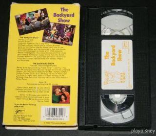 Barney Goes to School Backyard Gang VHS 1990 Sing Along ...
