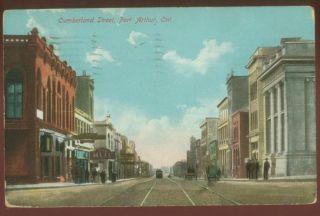 091108 CUMBERLAND STREET PORT ARTHUR THUNDER BAY ONTARIO 1909
