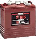 Trojan 6 Volt T 105 Golf Cart Batteries 6 Batteries