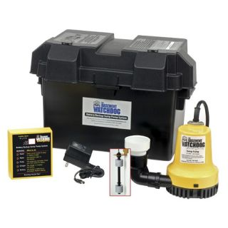 Basement Watchdog 1000 GPH Battery Backup Sump Pump System BWE