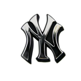 MLB Chrome 3D Auto Car Emblem Decal Sticker Baseball Team Logo