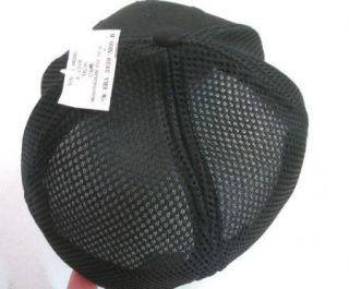 ERA 39thirty Flex Fit all black L XL Baseball Cap hat Soft Mesh back