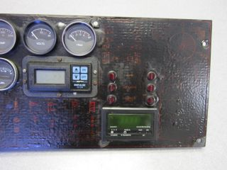 1985 Bayliner Capri Boat Dash Panel with Gauge Switches