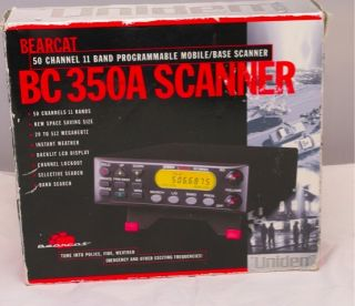 Scanner 50 Channel Programmable Mobile Box base scanner