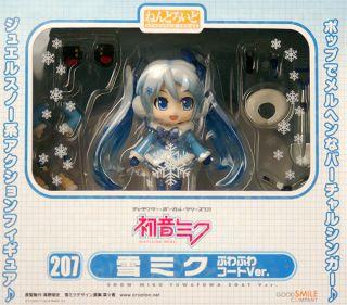 Nendoroid Snow Miku Fluffy Coat Ver Figure Good Smile Company WonFes