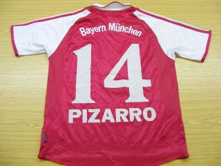 BAYERN MUNICH 2003 HOME adidas FOOTBALL SOCCER SHIRT JERSEY 14 YRS 14