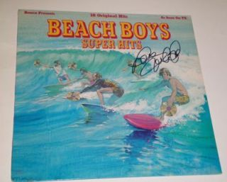 Mike Love Beach Boys Signed Super Hits Record Album