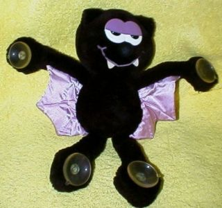 Vintage Vampire Bat 12 Stick Up Plush by Russ Suction Cups