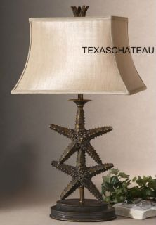 Beach House Cottage Chic Style Buffet Accent Table Lamp