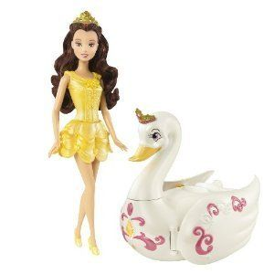 Disney Princess Royal Bath Belle Doll and Salon Gift Set New in Box