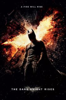 Batman The Dark Knight Rises Movie Poster   A Fire Rises   New Movie