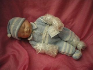 ASHTON DRAKE YOLANDA BELLO PRECIOUS NEWBORN BOY DOLL NEW/BOX