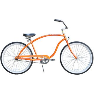Beach Cruiser Bicycle, Firmstrong THE CHIEF 26 Mens Extended Frame