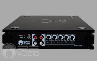 Re Audio XTX3000 1 Mono Class D XTX Series Digital Car Amplifier 3000