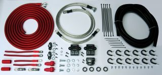 the most comprehensive battery relocation kit available at any price