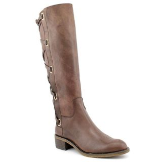 BCBGeneration Janiss Womens Size 8.5 Brown Leather Fashion   Knee High