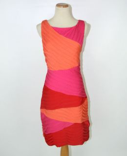 BCBGMaxazria $250 Multi Prom Evening Party Cocktail Dress  BRAND NEW