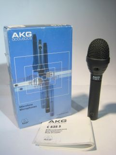 Condenser Mic Microphone With Switch Battery Powered NOS W Box C525S