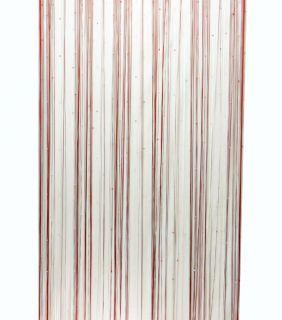 Handmade Curtain Drapes Beaded Door Window Hanging Home Decor Valance