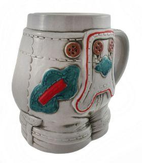 German Stoneware Lederhosen Beer Stein Mug Half Liter